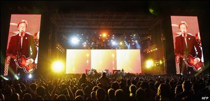 Concierto de Paul McCartney en Tel Aviv