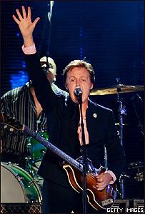 Paul McCartney en Tel Aviv