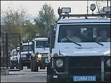EU monitors in Georgia