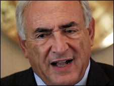 Dominique Strauss-Kahn, IMF head