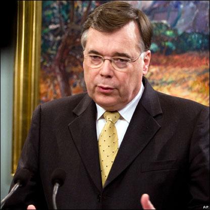 رئيس ال�كومة الايسلندية