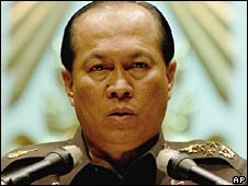 Army commander Gen Anupong Paochinda