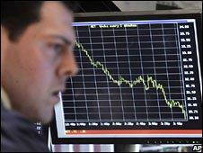 Wall Street trader 15 October 2008