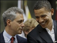 Rahm Emanuel Obama Chief of Staff