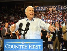 John McCain campaigns in Florida