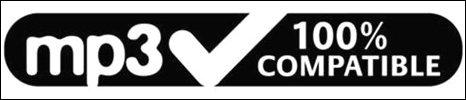 New MP3 compatible logo