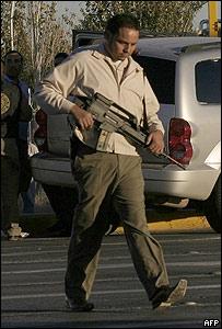 Policia de Ciudad Juárez.
