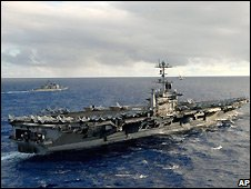 US aircraft carrier USS Stennis - 6/2/2007