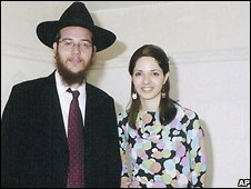 Rabbi Gavriel and Rivka Holtzberg (file pic, Chabad-Lubavitch)