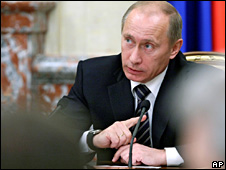 Vladimir Putin (27 November 2008)