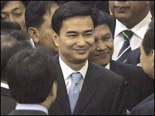 New Thai Prime Minister-elect Abhisit Vejjajiva