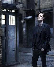 Matt Smith takes control of the TARDIS in 2010 as the 11th Doctor. (BBC Photo)