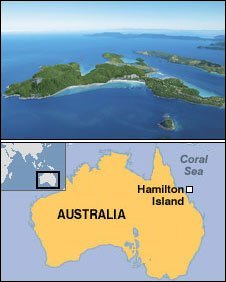 Hamilton Island - courtesy Tourism Queensland