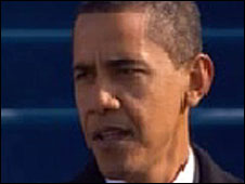 Barack Obama delivers inauguration speech, 20 January 2009