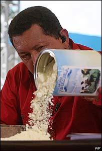 El gobierno destaca la seguridad alimentaria entre sus logros.