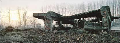 Ruinas en Birkenau