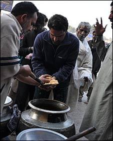 Sufi food distribution