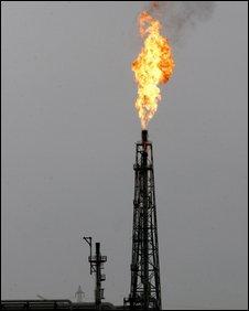 Iranian oil works