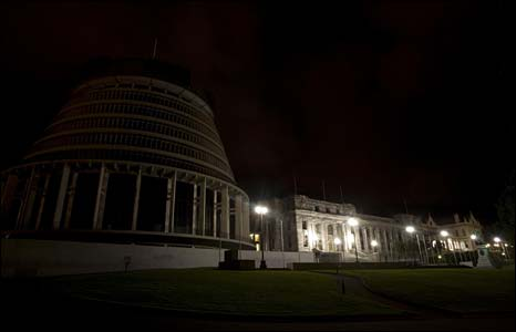 New Zealand parliament building, Wellington