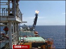 Brazil's oil fields