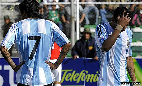 Luis Gonzales and Maxi Rodriguez