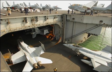 BBC NEWS UK England Hampshire In Pictures US Navy