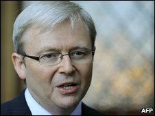 PM Kevin Rudd, 17th April 2009