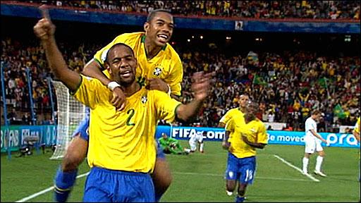 USA 0-3 Brazil