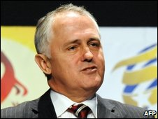 Opposition leader Malcolm Turnbull - 14/6/2009