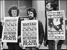 Blair Peach campaigners
