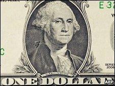 Detail from a dollar bill