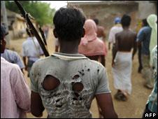 Maoist rebels in Lagarh