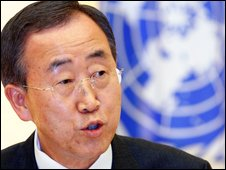 Ban Ki-moon in Japan - 1/7/2009