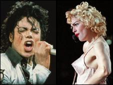 Michael Jackson and Madonna montage