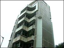 The block of flats where Ismail will live