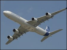 Airbus A340 (file image)