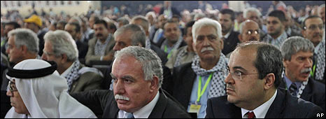Delegates at 6th Fatah Council, Bethlehem