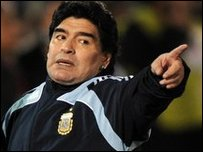 Maradona will never leave Argentina