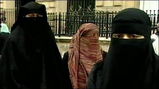 Veiled women
