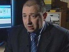 Russian police officer Oleg Bolderov