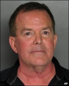 Senator Roy Ashburn in his booking photo (Sacramento County Sheriff)