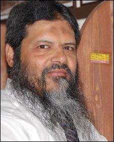 Manwar Ali from the Muslim charity Jimas