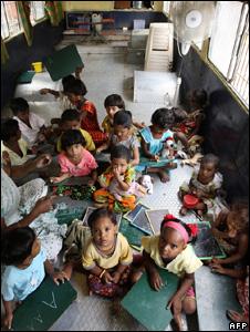 Indian children in school