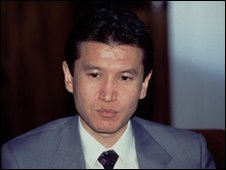 Kirsan Ilyumzhinov, leader of the Kalmykia region