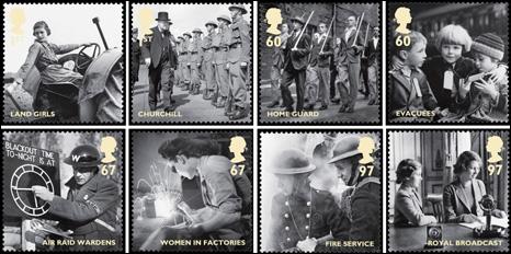 WW2 Stamps