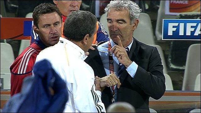 Image result for domenech handshake