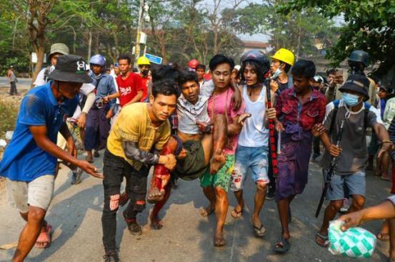 미얀마의 한국 공장, 태극기가 등장한 이유는?