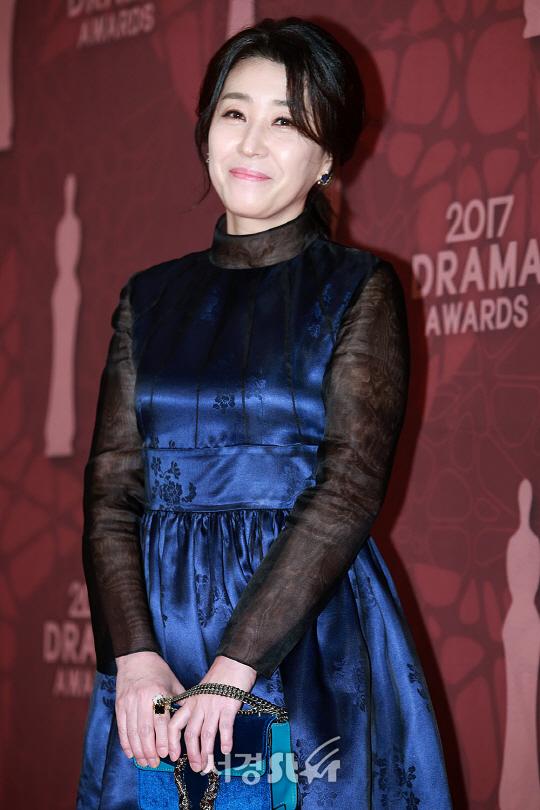 김미경, 우아한 미소 (2017 MBC연기대상)