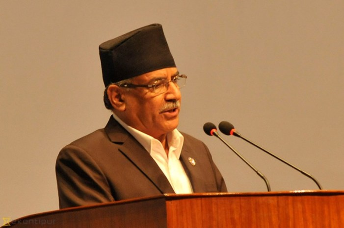 Nepalese Prime Minister Dahal goes to India with hopes but also amidst opposition