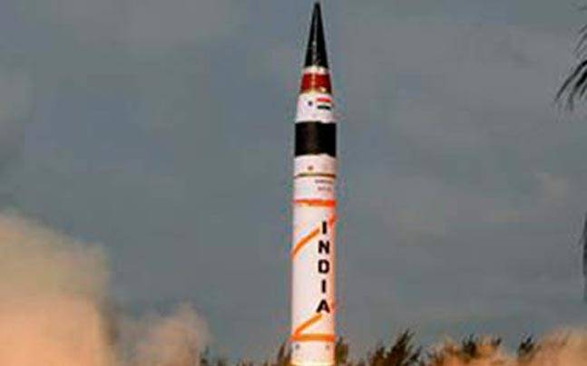 Chinese experts rattled by India's ICBM Agni V